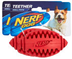 2 x NERF Dog Small Football Teether - Red 1