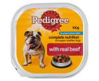 12 x Pedigree Complete Nutrition w/ Real Beef 100g 2