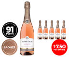 6 x Jacob's Creek Classic Sparkling Rose NV 750mL 1