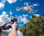 Lenoxx Space Kaiman Drone w/ Live Streaming Camera - White 1