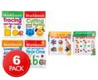 Wipe Clean Learning Workbook 6-Pack 1