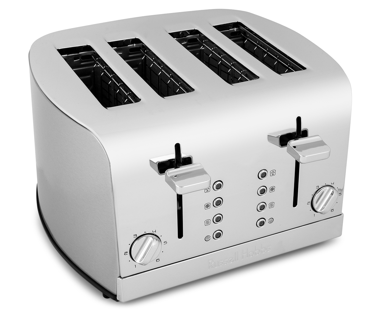russell hobbs 4 slice enchant toaster platinum. Black Bedroom Furniture Sets. Home Design Ideas