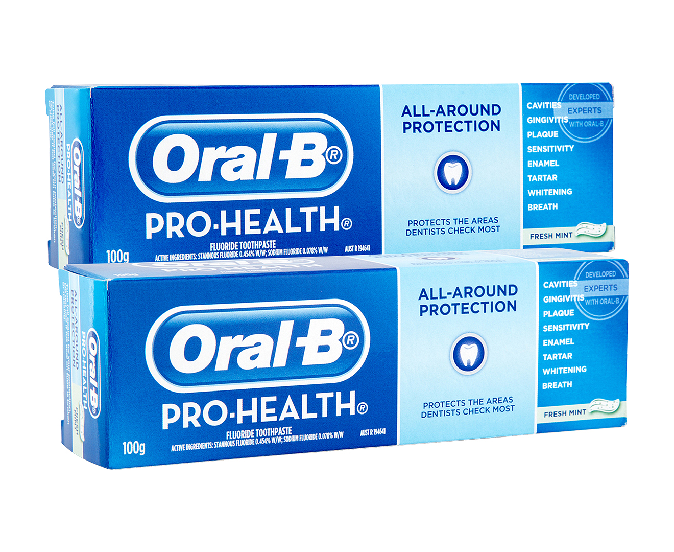 oral b pro health toothpaste Arm & hammer™ extra whitening advance white™ stain protection toothpaste – stain defense™, 120ml.