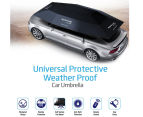 Promate CarShade Universal Protective Weather Proof Car Umbrella - Black 3