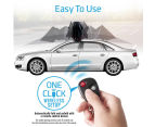 Promate CarShade Universal Protective Weather Proof Car Umbrella - Black 4