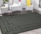 Borders 270x180cm UV Treated Indoor/Outdoor Rug - Grey 2