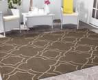 Geometric 160x110cm UV Treated Indoor/Outdoor Rug - Malt 2