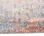 Emerald City 320x230cm Aglow Digital Print Soft Acrylic Rug - Orange/Multi 3