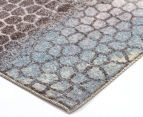 Emerald City 320x230cm Ethos Digital Print Soft Acrylic Rug - Blue 2