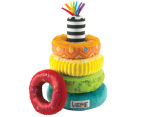 Lamaze Bright Rainbow Rings 1