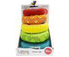Lamaze Bright Rainbow Rings 2
