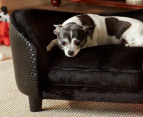 Enchanted Home Pet Plush Snuggle Bed For Small Dogs - Black 2