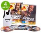 Die Hard DVD 4-Disc Set (M) + Stubby Holder 1