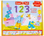 Head to Tail 1-2-3 Floor Puzzle 2