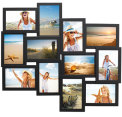 12-in-1 Photo Collage Frame - Black 3