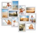 12-in-1 Photo Collage 10x15 Frames - White 3
