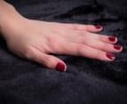 Deluxe Size 220x240cm Mink Blanket - Black 2