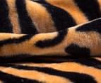 Deluxe Size 220x240cm Mink Blanket - Tiger Print 3
