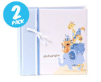 2 x Pepperpot Photo Albums - Blue 22 x 22cm 1