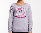 Russell Athletic Women's Crew Jumper - Grey 1