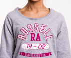 Russell Athletic Women's Crew Jumper - Grey 3