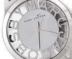 Marc by Marc Jacobs  Women's Henry Skeleton Watch - Silver 2
