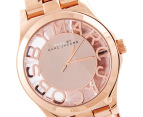 Marc by Marc Jacobs Women's Skeleton Watch - Rose 2