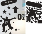 Skater Wall Stickers 2