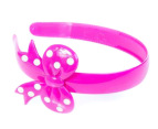 Milk & Soda Bow Headband - Pink 1