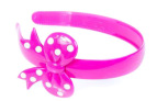 Milk & Soda Bow Headband - Pink 3
