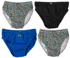 Rio Boys' Cotton Briefs 8-Pack - Skull 2