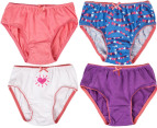 Rio Girl's Cotton Briefs 8-Pack - Hearts 4