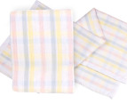 Big Softies Cotton 100 x 75cm Baby Blanket - Pastel 1