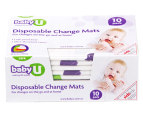 2 x Baby U Disposable Change Mats 10-Pack 2