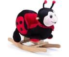 Plush Ladybug Rocking Chair with Sound 1