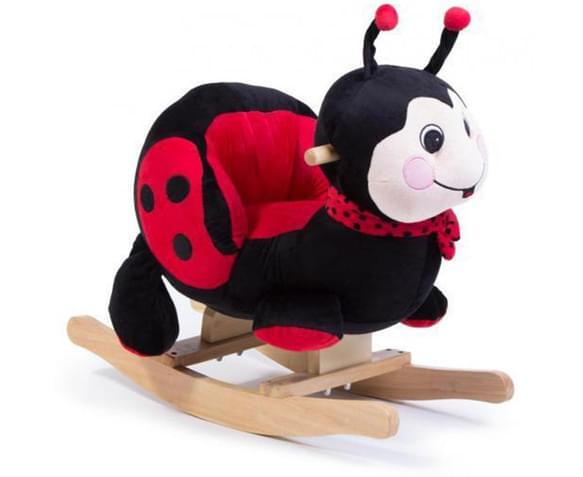 CatchOfTheDay.com.au  Plush Ladybug Rocking Chair with Sound
