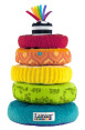 Lamaze Soft Rainbow Rings 3