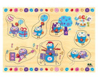 Giggles & Hoot Hootabelle Pin Puzzle 1