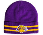 Mitchell & Ness Los Angeles Lakers Beanie - Purple 1