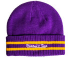 Mitchell & Ness Los Angeles Lakers Beanie - Purple 2