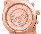 Michael Kors Runway Chronograph Watch - Rose Gold 2