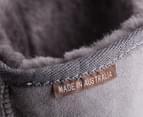 Australian Leather Long Classic Ugg Boots - Grey 3