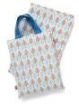 Little Chipipi Down to The Woods Cot Sheet Set 4