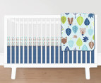 Little Chipipi Down to The Woods Cot Sheet Set 2