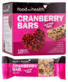 Food For Health Gluten Free Bars Cranberry 630g 18pk 4
