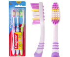 Colgate Extra Clean Medium Toothbrushes 3pk 1