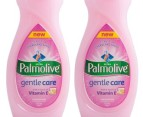 2x Palmolive Gentle Dishwashing Liquid 750mL 2