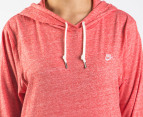 Nike Women's Time Out Hoodie - Mango Heather 2