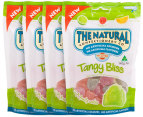4x Natural Confectionery Co Tangy Bliss 140g 1