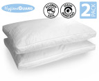 Ultra Sleep Deluxe Microfibre Pillow Twin Pack 1